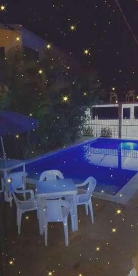 Casa vacacional con piscina privada