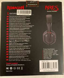 Kit Combo Redragon + Mouse Gaming Griffin M607 + Teclado Mecánico Kumara  K552-2 + Audífonos Alambricos Ares H120