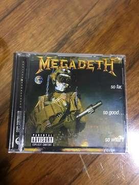 Megadeth sfsgsw cd