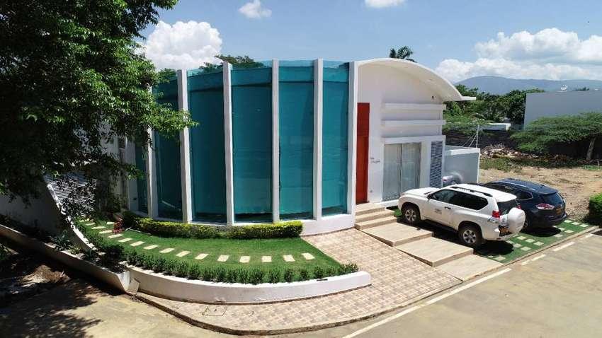 hermosa casa en Bocono, Cúcuta, Boconó, piscina climatizada y automatizada, turco, teatro, bar, 5 habitaciones con baño 0