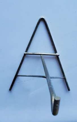 Porta maceta de metal reforzado para mucho peso para colgar