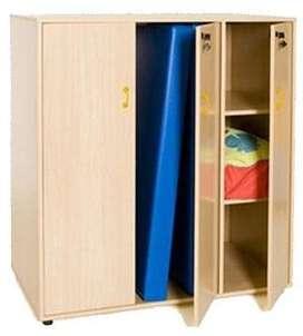 armario para centro educativo en melamina color a escoger