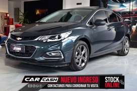 CHEVROLET CRUZE 5P 1.4 TURBO LTZ AT 2018