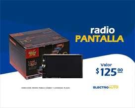 RADIO PANTALLA 6.5 PARA CARRO/VEHICULO