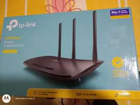 Router repetidor tp link 450mbps 3 antenas