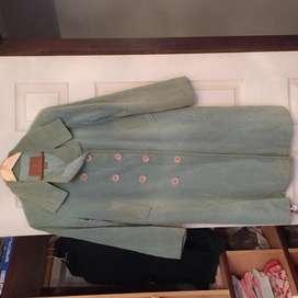 Tapado de terciopelo celeste verde esmeralda, de coleccion de AKIABARA . Excelente EStado!