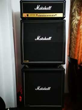 Amplificador de guitarra Marshall jcm 900 full stack