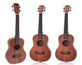 ukelele concierto ukulele pura madera caoba con garantia