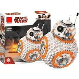 1.106 pzs - BB8 LEGO - STAR WARS - JUGUETE LEGOS