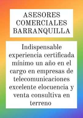 ASESORES COMERCIALES BARRANQUILLA