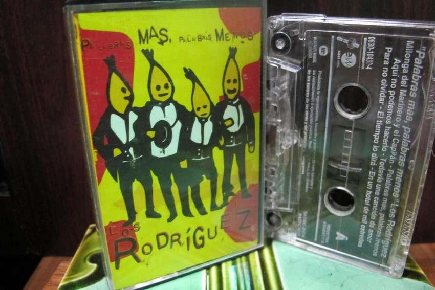 Los Rodriguez - Palabras Más, Palabras Menos - Cassette ARG 0
