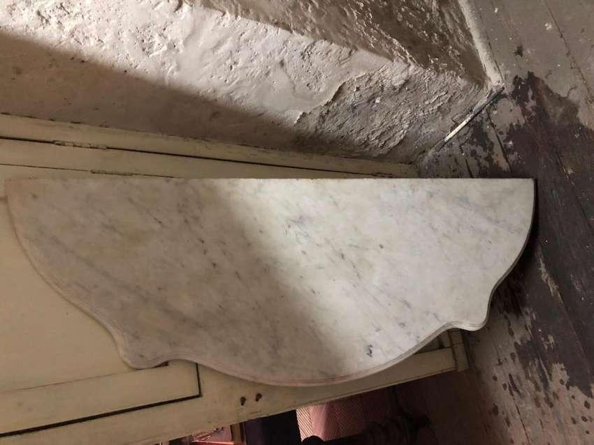 Tapa de marmol para Consola en perfecto estado antigua 0