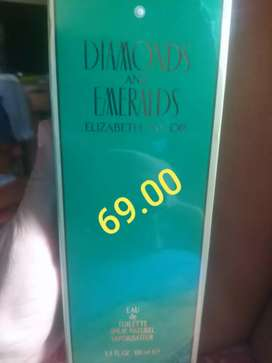 Perfumes white diamonds & emeralds originales
