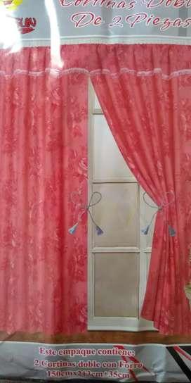 Juego de cortinas especial para dormitorio