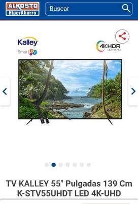 """TV Kalley 55"""" UHD 4K"""