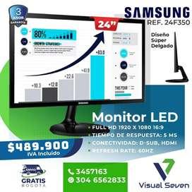 Monitor Samsung 24 Pulgadas Ultra Delgado