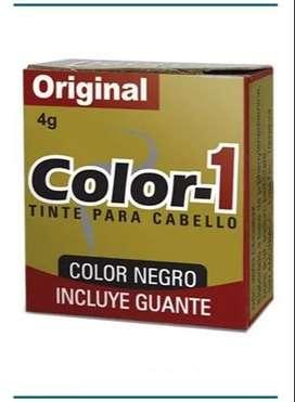 Tintura Pastilla Color 1 Negra - kg a $3000