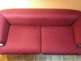 Sillon tapizado en tela fantasia