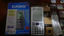 OPORTUNIDAD CALCULADORA CIENTIFICA CASIO CLASSPAD 330