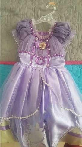 disfraz princesa sofia talla 4