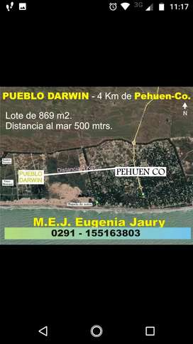 Venta Terreno en Pehuen co