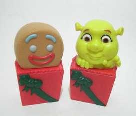 Gengibre y bebe ogro colgantes navidad Mc Donald's No Envio