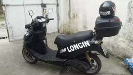 Moto loncin año 2011 matricula al dia