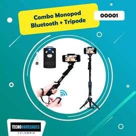 Combo monopod + Trípode