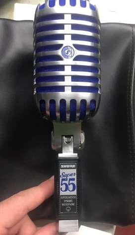 Microfono condensador shure super 55
