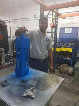 Mantenimiento hidráulico Aceite