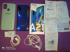 Samsung galaxy a21s como nuevo