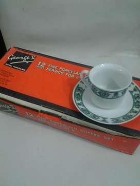 Juego de Cafe de Porcelana Import Nuevo