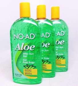 Gel Aloe Vera After Sun Protector Post Bloqueador Solar Noad