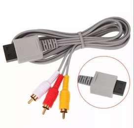 Cable de Audio y Video para Nintendo Wii.