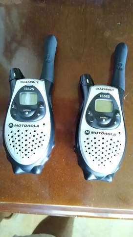 RADIOS  DE COMUNICACION MOTOROLA T5525 EN PERFECTO ESTADO