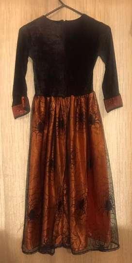 Disfraz de niña talla 8 bruja brujita