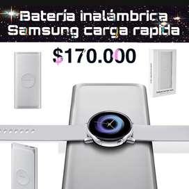 Batería inalámbrica Samsung carga rápida para note y S