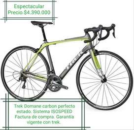 Espectacular Trek Domane carbono ISOSPEED
