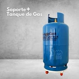 Cilindro o tanque de Gas con base GRATIS!
