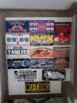 Placas Beisbol Nfl Nba