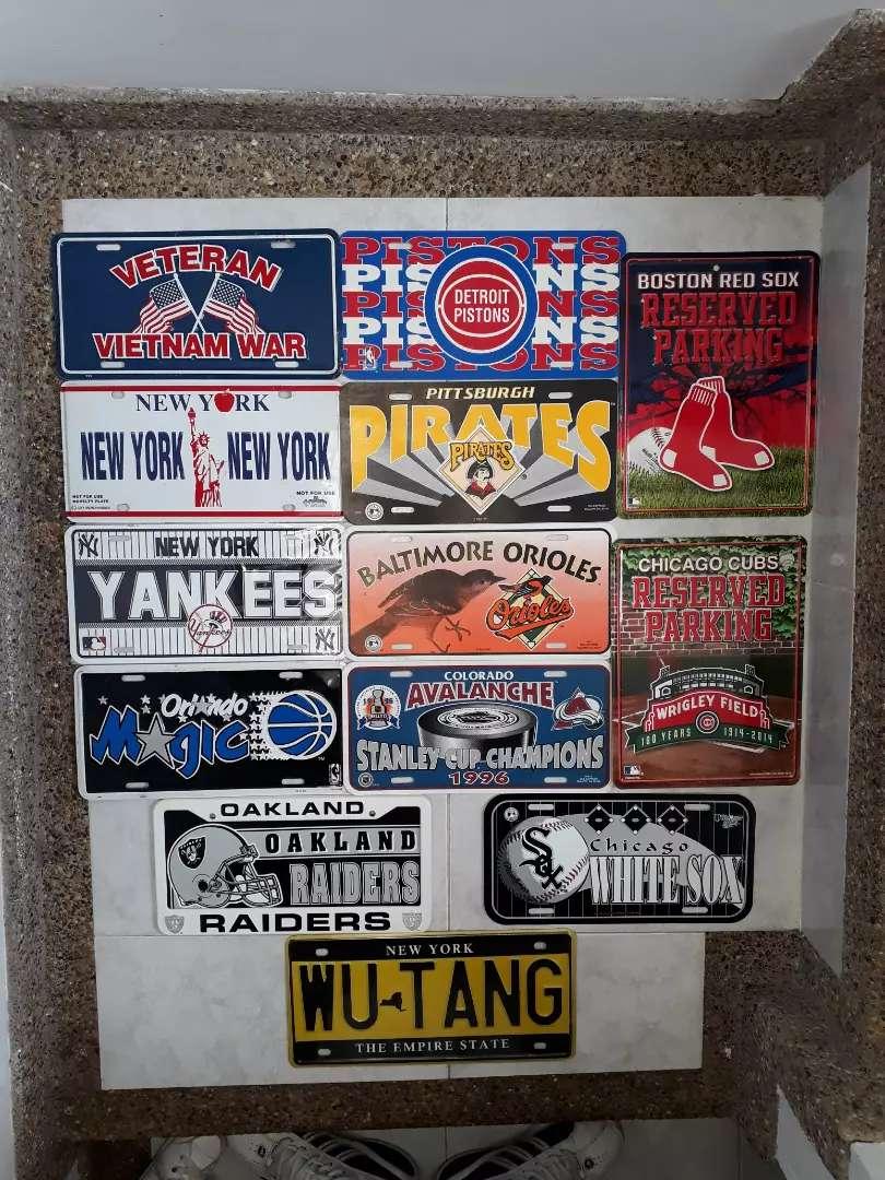 Placas Beisbol Nfl Nba 0