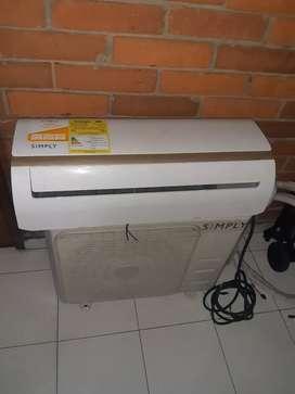 Vendo aire acondicionado sympli muy poco uso.