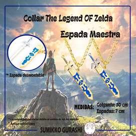 Collar The Legend of Zelda Espadas Hyrule Colgante