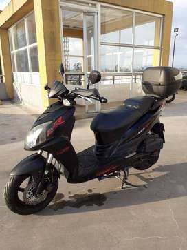 Moto scooter akt jet 5R 2016 150