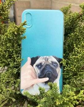 Case iPhone 7/8, X/xs - Pug