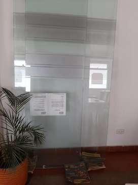2 vidrios templados