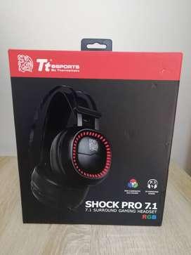 AUDIFONOS GAMER THERMALTAKE SHOCK PRO 7.1 SORROUND GAMING HEADSET