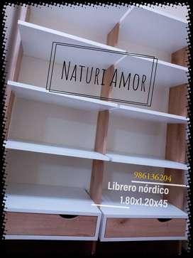 Librero de melamine