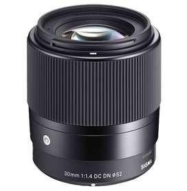 Lens 30mm / F 1.4 DC DN Contemporany Lente Sigma para Sony Mount E