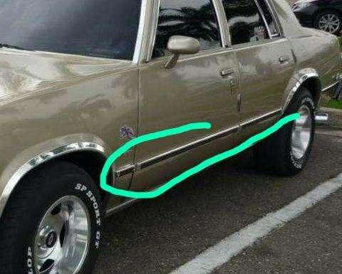 Molduras y Biseles Chevrolet Malibu 0